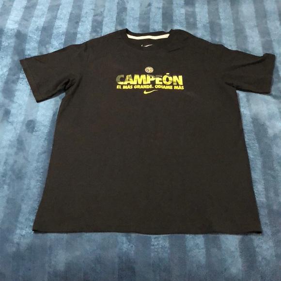 c8937918e Club America Ódiame Mas CAMPEON Nike t-shirt. M 5a5150ee6bf5a6d5870268b3